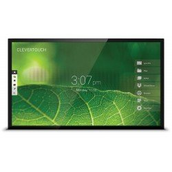 Ecran interactif capacitif Android/Windows CleverTouch Pro 4K - 65