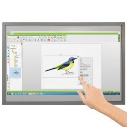 Tableau blanc interactif tactile fixe Speechi, 10 points de touch 83