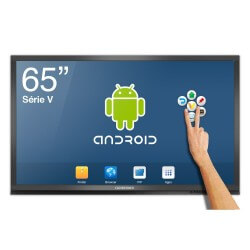 Ecran interactif tactile Android CleverTouch V - 65 ''