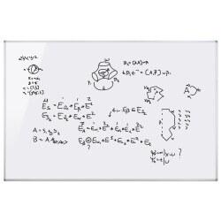 Tableau Blanc 122x150cm acier émaillé semi-mat