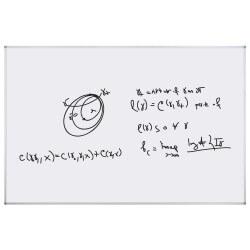 Tableau Blanc 122x100cm mat