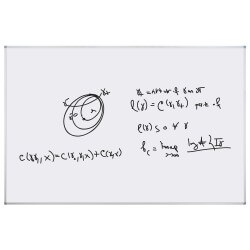Tableau Blanc 122x244cm mat